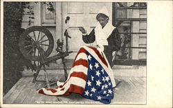 Betsy Ross Making the First United States Flag