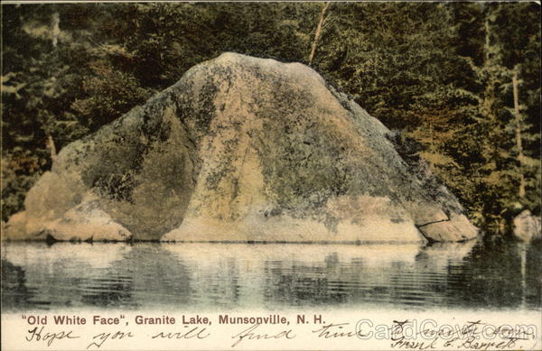 Old White Face, Granite Lake Munsonville New Hampshire