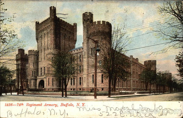 Regiment Armory Building Buffalo New York