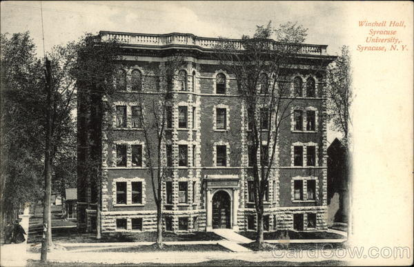 Winchell Hall, Syracuse University New York