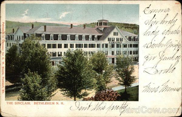 The Sinclair Hotel Bethlehem New Hampshire