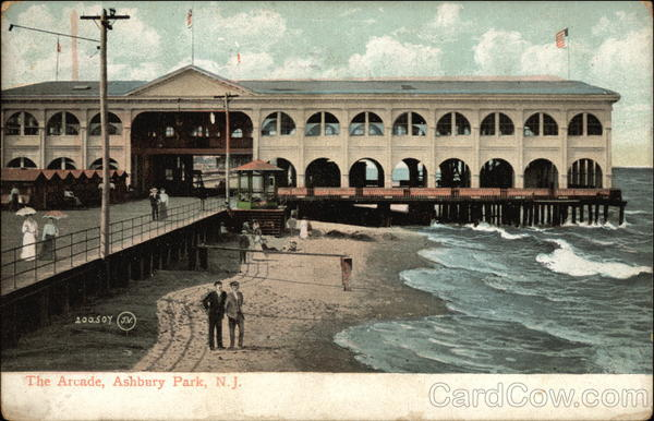 View of The Arcade Asbury Park New Jersey