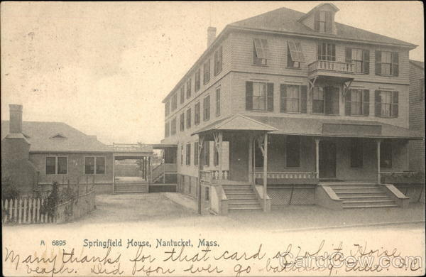 View of Springfield House Nantucket Massachusetts
