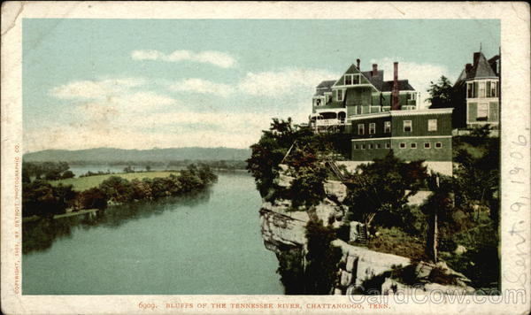 Bluffs of the Tennessee River Chattanoogo