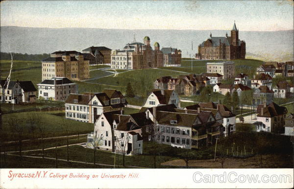 College Building on University Hill Syracuse New York