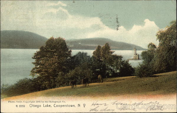 Looking Over Otsego Lake Cooperstown New York