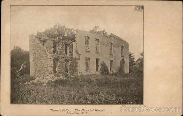 Tryon's Folly, The Haunted House Lewiston New York