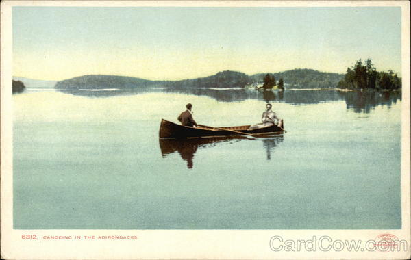 Canoeing in the Adirondacks Canoes & Rowboats