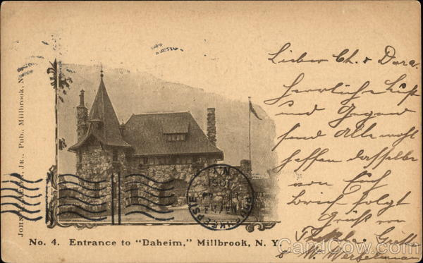 Entrance to Daheim Millbrook New York