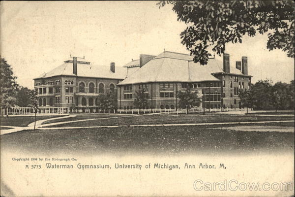 Waterman Gymnasium, University of Michigan Ann Arbor