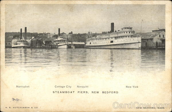 Steamboat Piers New Bedford Massachusetts
