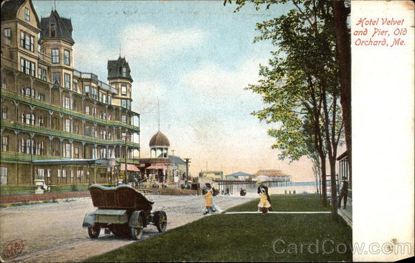 Hotel Velvet and Pier Old Orchard Beach Maine