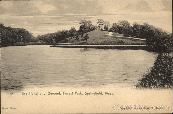 Forest Park - The Pond and Beyond Springfield Massachusetts