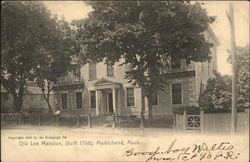 Old Lee Mansion