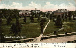 View of Bates College