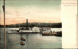 Steamer Mt. Washington Postcard