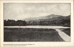 Runnemede Lake and Ascutney Mountain