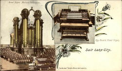 Great Organ, Mormon Tabernacle & Key Board, Great Organ
