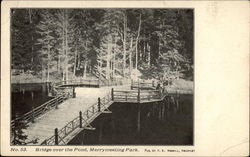 Bridge over the Pond, Merrymeeting Park