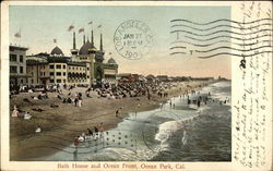 Bath House and Ocean Front