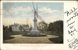 Soldiers' Monument and Trall Hospital