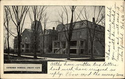 Geneseo Normal, Front View Postcard