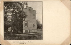 The Old Customs House, Built 1824 Postcard