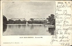 New Iron Bridge, Erected 1904