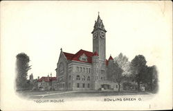 View of Court House Postcard
