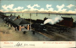 C.R.I. & P. Depot and M.N. & S. Depot