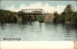 View of The Bridge Postcard