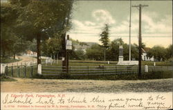 Edgerly Park Postcard