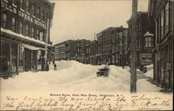 West Main Street - Blizzard Scene