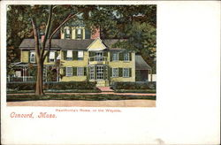 Hawthorne's Home - The Wayside