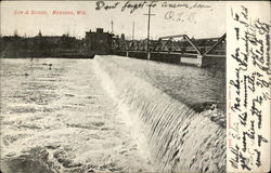 Dam & Bridge Postcard