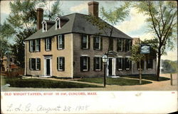 Old Wright Tavern Built in 1747