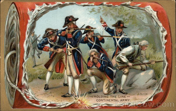 Holding the Line--Continental Army Patriotic