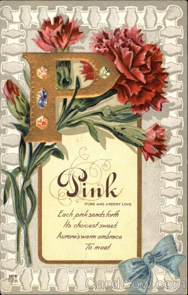 Pink: Pure and Ardent Love Flowers