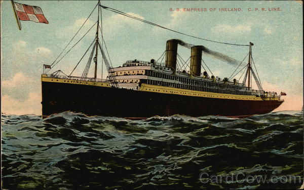 S. S. Empress of Ireland Boats, Ships