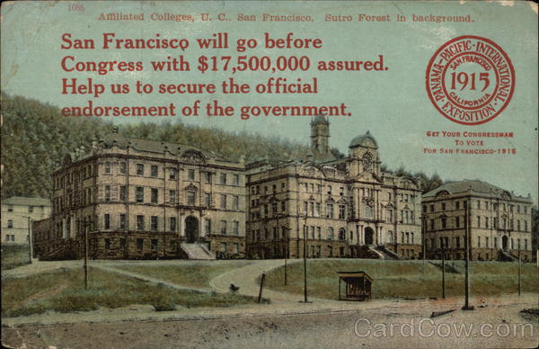 Affiliated College, U.C. San Francisco 1915 Panama-Pacific Exposition