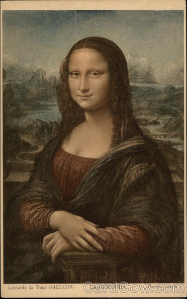 La Gioconda (The Mona Lisa) Leonardo da Vinci Art