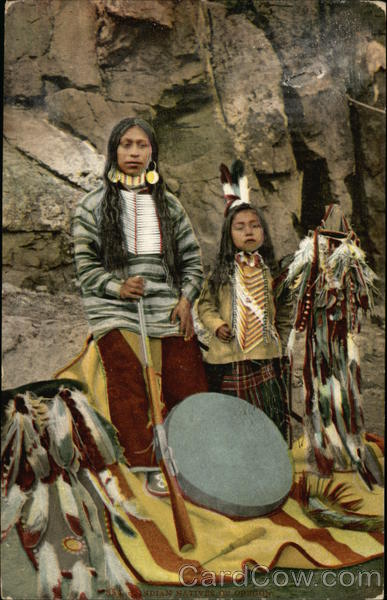 Indian Natives of Oregon Native Americana