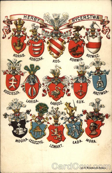 Coat of Arms of Herby Rycerstwa Banners & Pennants