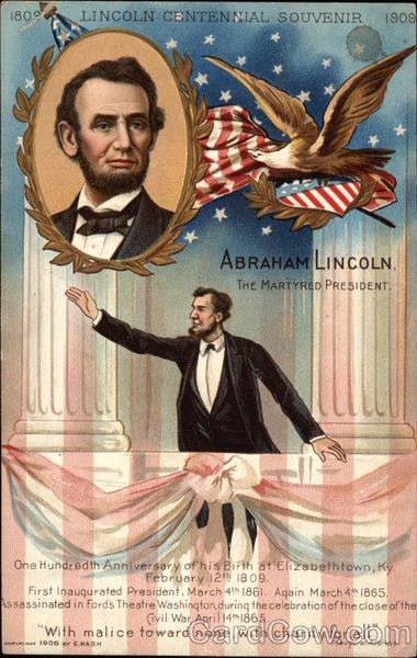 Abraham Lincoln. The martyred President Presidents