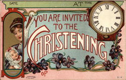 You are Invited to the Christening of