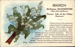 March Birthday with Lily of the Valley