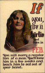 If You Are a Girlie and Born in Feb