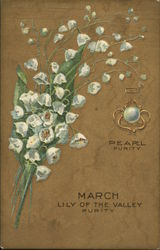March, Pearl Purity, Lily of the Valley, Purity