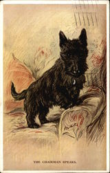 The Chairman Speaks - Scottish Terrier
