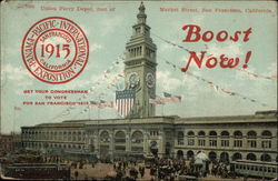 Union Ferry Depot, foot of Market Street, San Francisco, California
